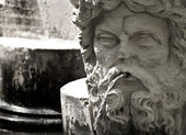 Statue de jardin médiéval — Photo