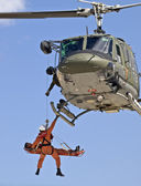 Huey UH1-N Medevac — Stock Photo