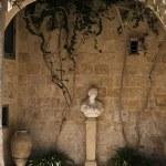 Roman Courtyard — Stock Photo