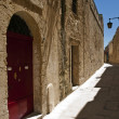 Mdina Street and House — Stock Photo