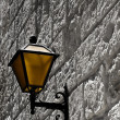 Mdina Lantern — Stock Photo