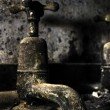 Stock Photo: Old Bathroom Tap