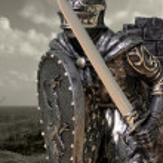 Knights & Armour — Stock Photo