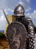 Knights & Armour — Stock Photo