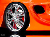 Hot wheels — Stock fotografie