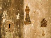 Old Door Fittings — Stock Photo