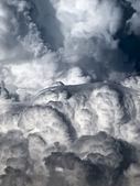Cumulus and Lenticular — Stock Photo