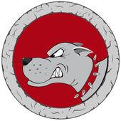 Dog logo — Stock Vector