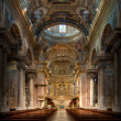 Baroque Basilica  Finale Ligure Italy - Stock Photo