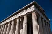 Greek Temple of Ares columns, Acropolis — Stock Photo