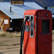 Stock Photo: Old gas pump