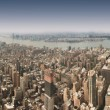 New York City 360 degree panorama - Stock Photo
