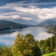 Millstättersee lake Millstatt Austria - Stock Photo