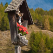 Marterl wayside cross shrine Austria - Stock Photo