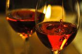 Drop of wine — Stock Photo