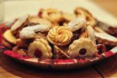 Christmas cookies Austria — Stock Photo