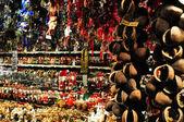 Shopping carts row closeup — Stock Photo