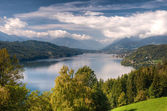 Millstättersee lake Millstatt Austria — Stock Photo