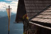 Mountain hut Lammersdorfer Austria — Stock Photo