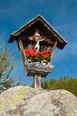 Marterl wayside cross shrine Austria — Stock Photo