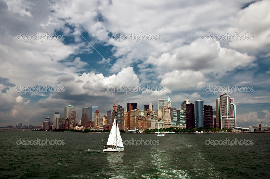 New York City panorama — Foto de Stock   #2585970