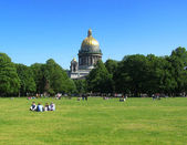 St. Isaac cathedral. St.-Petersburg — Stock Photo
