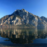 Alpine landscape, mountain — Stock Photo