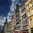 Main square in Wroclaw — Stock Photo