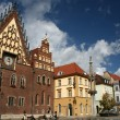 Stock Photo: City hall in Wroclaw, Poland
