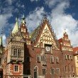 Stock Photo: City hall in Wroclaw