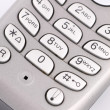 Stock Photo: Keypad phone