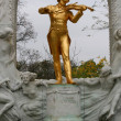 Royalty-Free Stock Photo: Johann Strauss statue