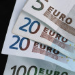 Stock Photo: Euro bills