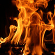 Fire, flame — Stock Photo