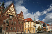 City hall in Wroclaw, Poland — Stock Photo