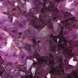 Texture from natural amethyst — Stock Photo