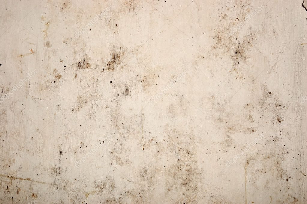 The old peeled wall with dirt stains stock photo for Removing dirt stains from concrete