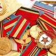 Soviet fighting medals for the WW2 — Stock Photo