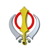 Sikhism symbol — Stock Photo