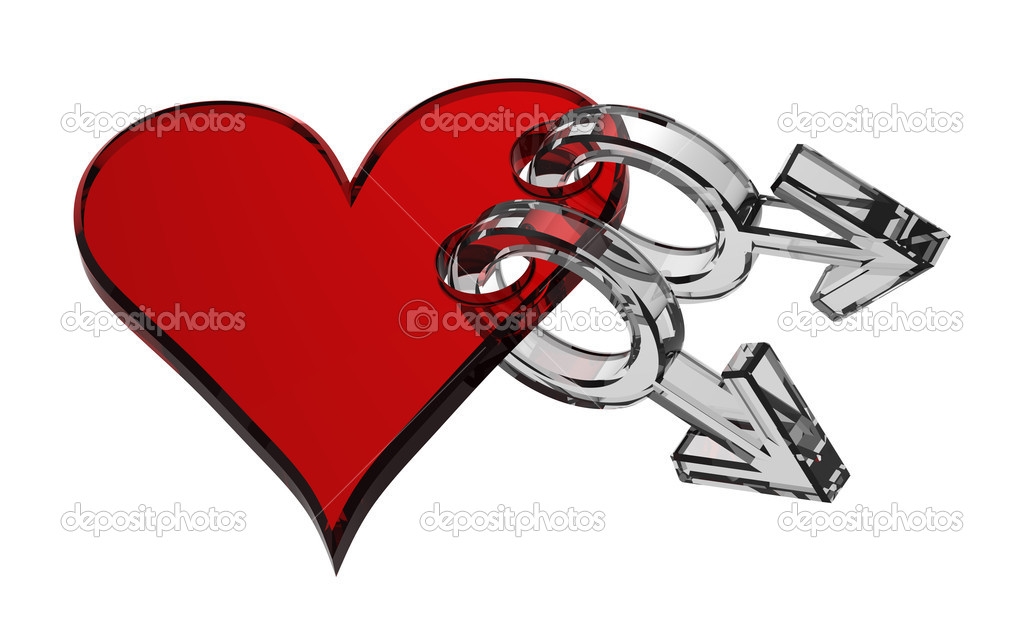 depositphotos 1864654 Glass gay sex symbol linked with heart Modest Babe Learns Sex Elements