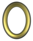 Rámeček obrázku zlato oliv — Stock fotografie