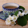 Jasmine tea — Stock Photo