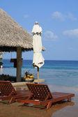 Poolside bar vacation — Stock Photo