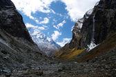 Himalayas. Myagdi khola gorge. — Stock Photo