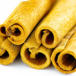 Cinnamon sticks on white background — Stock Photo #1868603