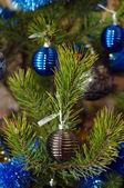 Yılbaşı ağacı süsleri — Stok fotoğraf