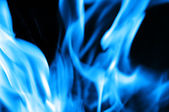 Burning fire close-up — Stock Photo