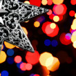 Decorative christmas star — Stock Photo