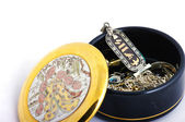 Japanese jewelry box — Stock Photo