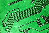 Green computer board — Stock Photo